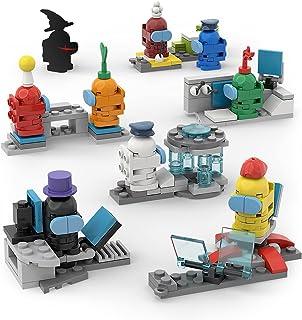 Among in Us Werewolf Kill Gaming actionfigur leksaker byggklossar, miniatyrfigurer leksaker karaktär modellsats gör-det-sj...