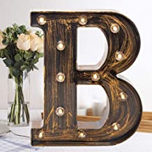 Handmade Wood Letters Alphabet Wall D/écor//Free Standing Shelf Tabletop Monogram Wooden Blocks Rustic Letters for Coffee Bar Apartment Bedroom Home Initials Childrens Bedroom Wedding Party Home Decor