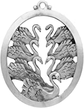 Hampshire Pewter Seven Swans A Swimming Ornament