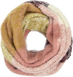 Women's Warm Fuzzy Plaid Infinity Scarf