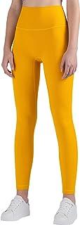 ANIMQUE Leggings deportivos para mujer, largos, deportivos, de cintura alta, con bolsillo en la cadera, delgados, superelá...