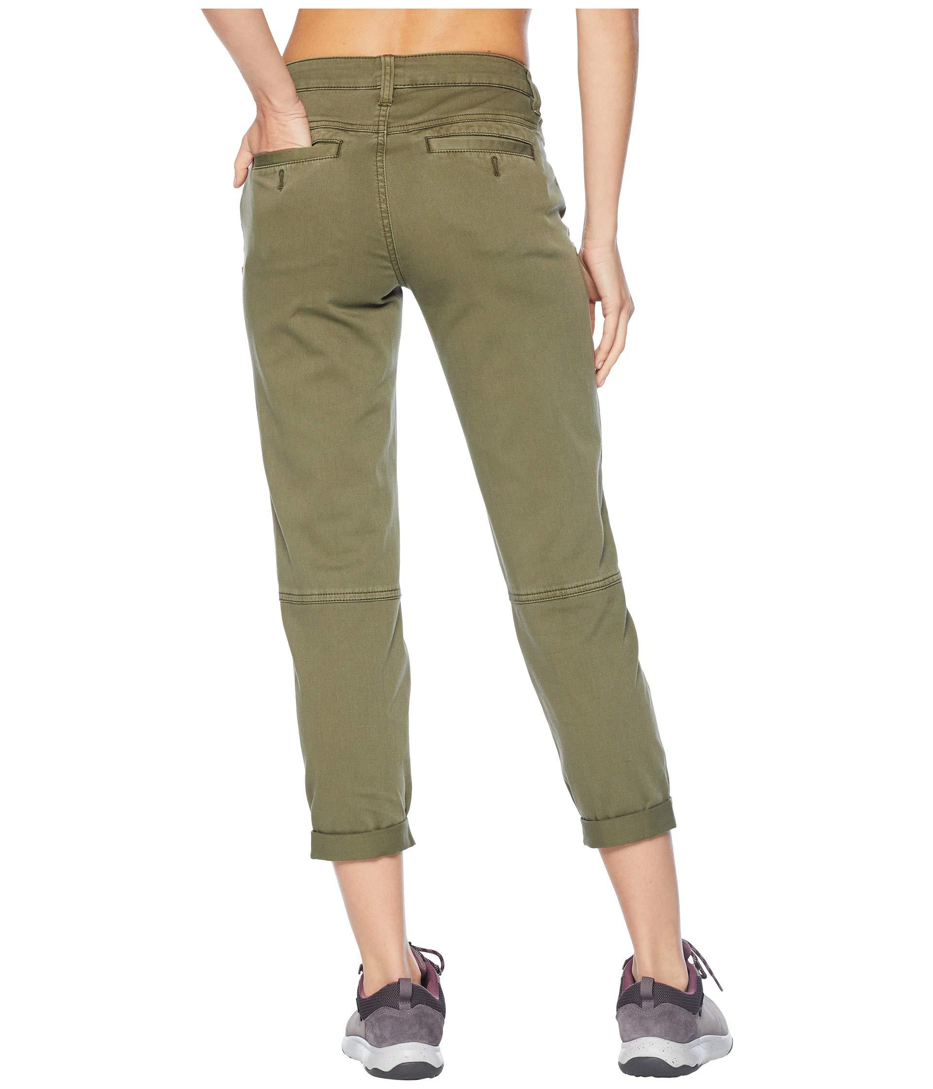 Green Prana Pants Prana Cargo Janessa Janessa w6FxvzFX