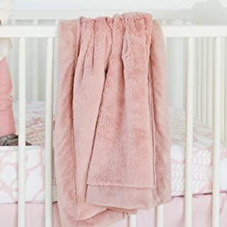 Saranoni Receiving Blankets for Babies Super Soft Boutique Quality Lush Luxury Baby Blanket (Ballet Slipper Pink, Receiving Blanket 30