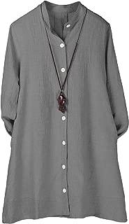 Women's Button Down Jacket Long Sleeve Jacquard Blouses Cardigan