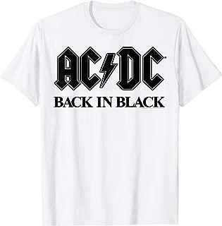 AC/DC - Bold Black T-Shirt