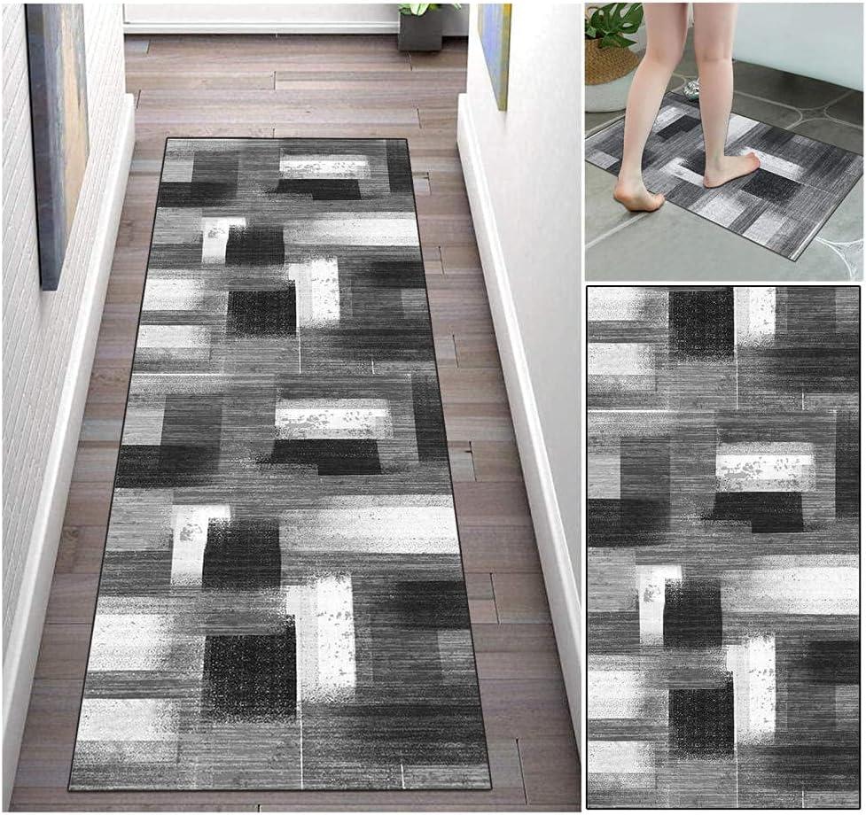 Los Angeles Mall Runner Rugs Hallway Carpet 2'x3' Kit Decor Boston Mall Washable Mat Non-Slip