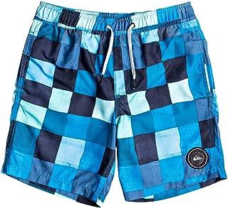 Quiksilver Resin Check 15in Boys Swim Pantalones cortos