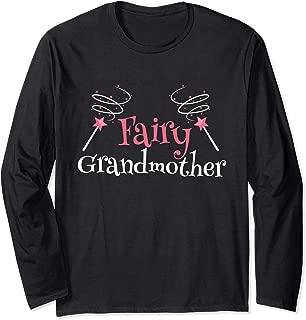 Fairy Grandmother Magical Grandma Long Sleeve T-Shirt