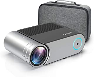 "Mini Projector, Vamvo L4200 Portable Video Projector, Full HD 1080P 200"" Display Supported; Outdoor Movie Projector 3800 L..."