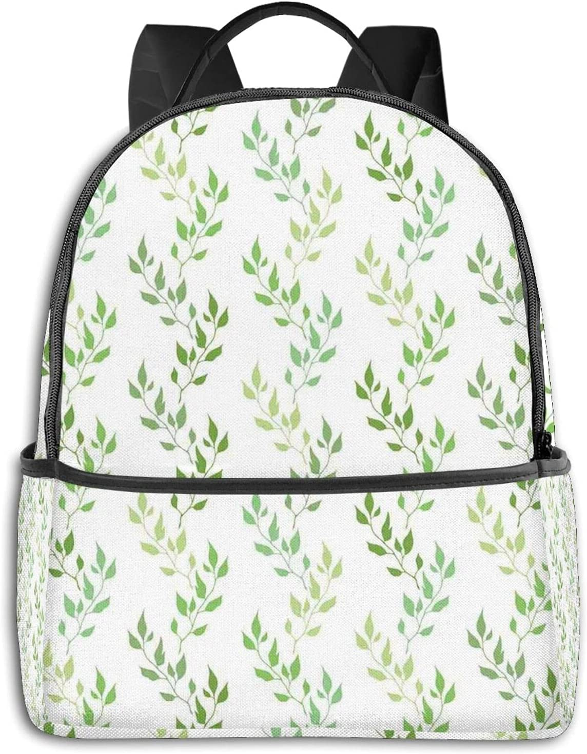 Symmetrical Outlet sale feature Olive Leaves Factory outlet And Wavy Branches With Ethnic Patterns