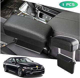 SEMBEM Car Armrest Holder, Car Armrest Axtender, Car Seat Pockets Car Center Console Organizer Multi-Function Armrests Storage (with Black Line)