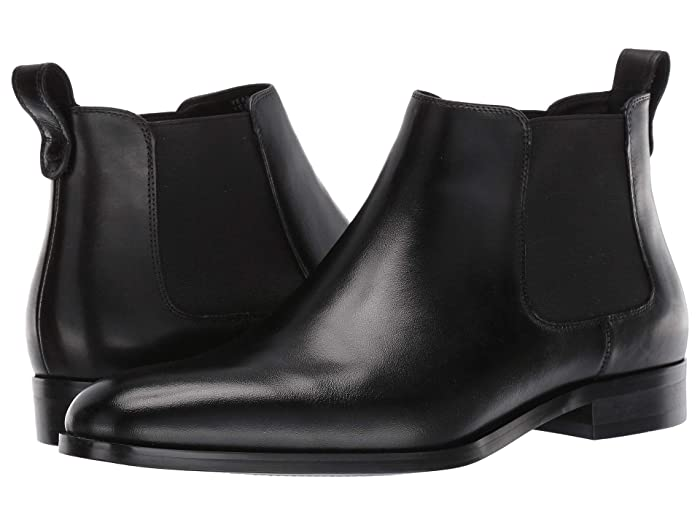 Stacy Adams Men's Victorian Boots and Shoes Steve Madden Yearn Black Leather Mens Shoes $103.50 AT vintagedancer.com