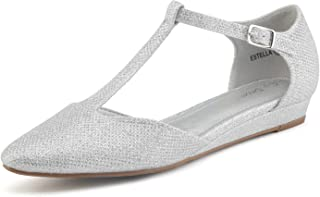 Women's Estella Low Wedge Ballet Flats Shoes