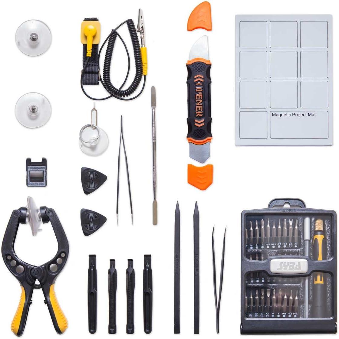 Syba 新品未使用正規品 Precision Screwdriver Set with 高価値 Magnetic Kit Driver Profess