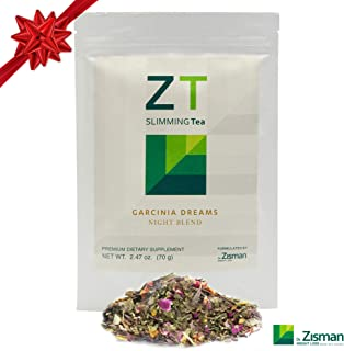 Dr. Zisman ZT Slimming Detox Tea | Garcinia Dreams Night Blend Weight Loss Tea | Reduced Stress And Muscle Tension | Deeper Sleeping Time Enhanced Digestion Process Healthy Rest While Burning Calories