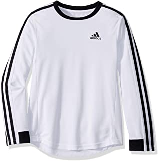 Boys' Long Sleeve Moisture-Wicking Training T-Shirt