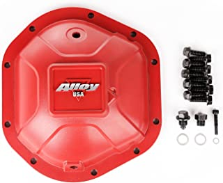 Alloy USA 11212 Red Aluminum Differential Cover for Dana 44