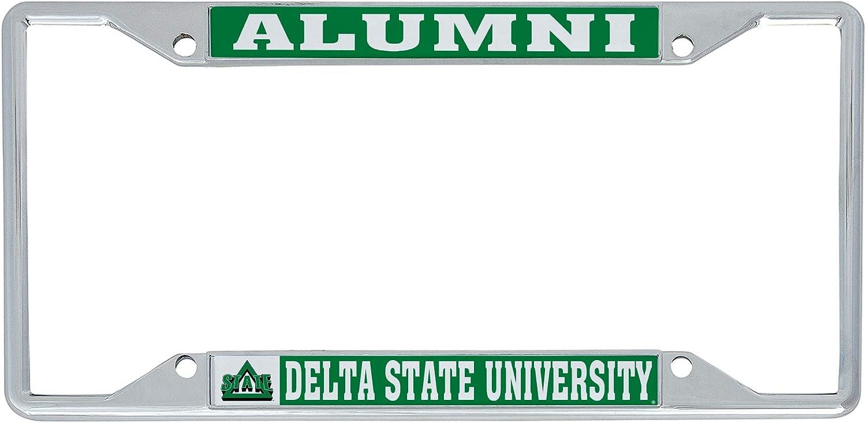 Delta State University Statesmen New mail order DSU Plate Luxury Frame f License Metal
