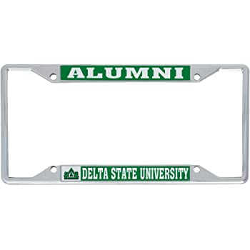 Alumni Desert Cactus The University of Montana Grizzlies Lady Griz NCAA Metal License Plate Frame for Front or Back of Car Officially Licensed