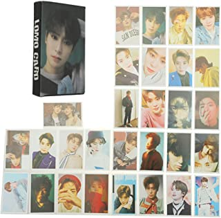 Bosunshine NCT U 127 2018 Empathy Paper Cards New Ablum REALI Postcads Colletion Cards New Merchandise Accessories for Fans Perfect Gift (Lomo card-09)