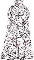 西川 リビング 着る毛布 ピンク 肩幅41cm着丈158cm裾幅83cm スヌーピー 着る毛布 ピンク SP204 2083-08684