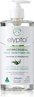 Elyptol Antimicrobioal Hand Sanitizer Gel, Eucalyptus, 500 ml