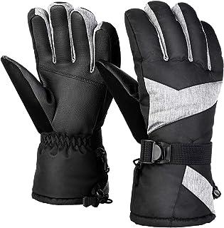 coskefy Gants de Ski Gants dhiver Insulation Chaud Winter Gloves Coupe-Vent et Imperm/éable pour Neige Snowboard Cyclisme Velo Randonn/ée Montagne