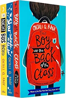 Onjali Rauf Collection 3 Books Set (The Night Bus Hero, The Star Outside my Window, The Boy At the Back of the Class)