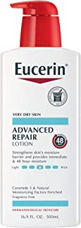 Eucerin Smoothing Repair Dry Skin Lotion 16.9 Ounce Bottle