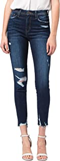 Jeans Tales High Rise Distressed Ankle Skinny