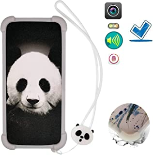 Case for Blu Vivo Go V2.0 Case Silicone border + PC hard backplane Cover KBXM