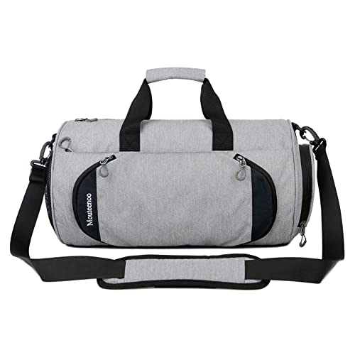 Gym Sports Small Duffel Bag for Men and Women with Shoes Compartment -  Mouteenoo f9ec541629295