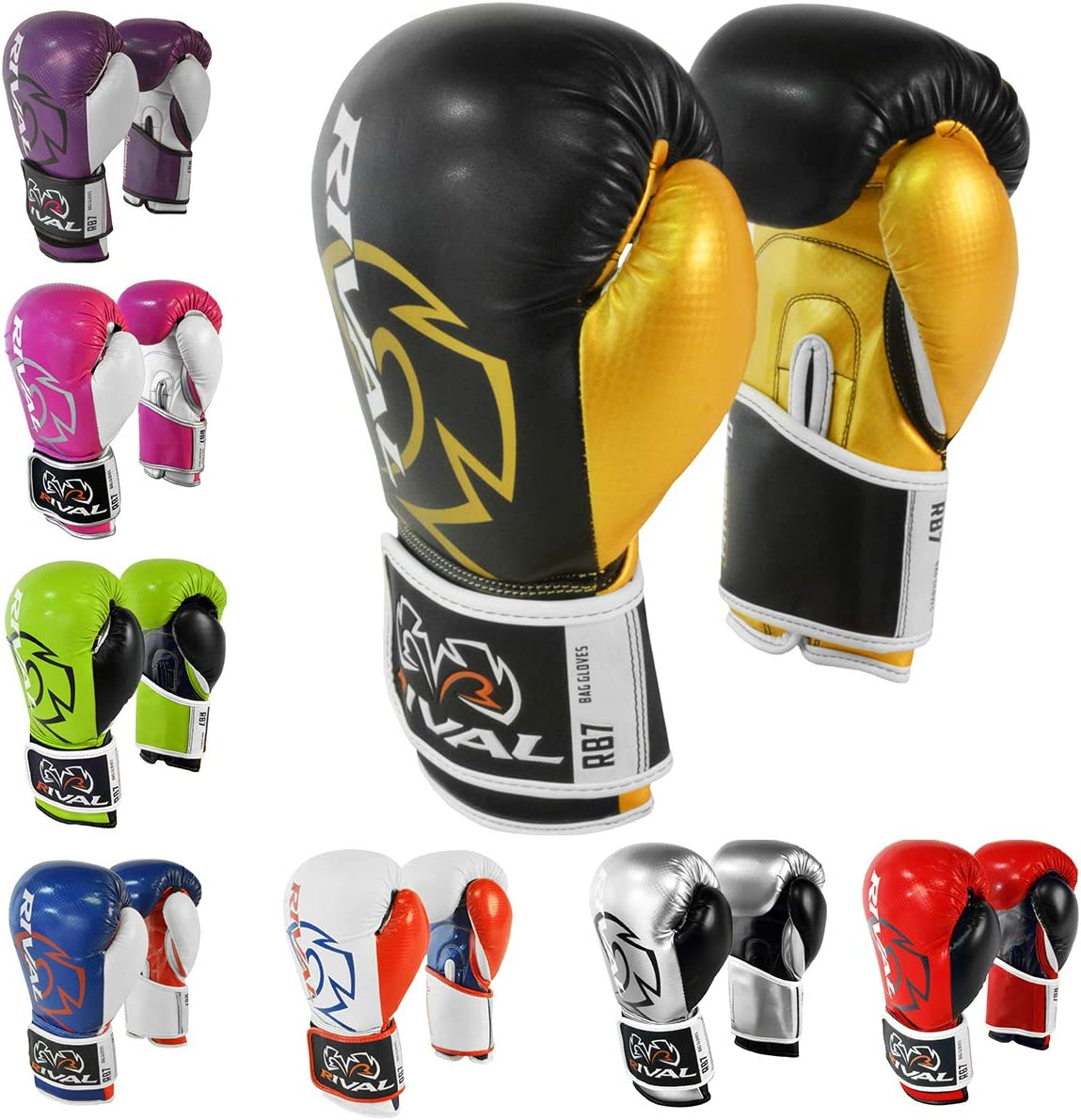 Industry No. 1 RIVAL Boxing RB7 Fitness Free shipping Plus Gloves Bag