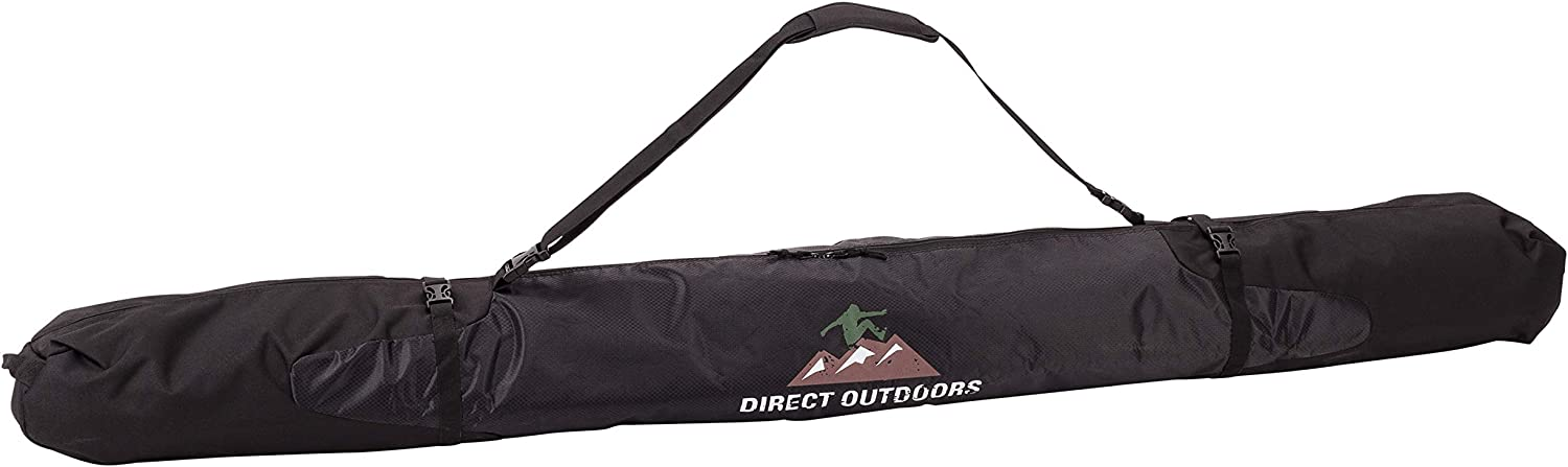 5% OFF Direct Outdoors Travel Padded Denver Mall Ski Bag Resistan Carry Water Strap
