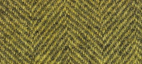 "product image for Weeks Dye Works Wool Fat Quarter Herringbone Fabric, 16"" by 26"", Lemon Chiffon"