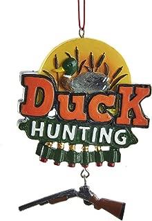Kurt Adler 3.75-inch Duck Hunting Hanging Ornament