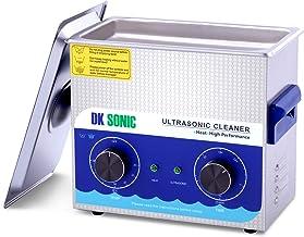 تمیزکننده اولتراسونیک تجاری - DK SONIC 3L 120W Sonic Cleaner با بخاری و سبد مخصوص پروتز ، سکه ، قطعات فلزی کوچک ، ضبط ، برد مدار ، ملزومات روزانه ، تجهیزات خال کوبی ، ابزارهای آزمایشگاهی و غیره
