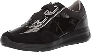 GEOX Womens D926CA.00222.C9999 Agyleah 2 Fashion Sneaker Black Size:
