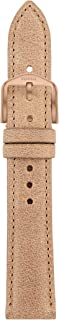 Fossil Women's 18mm Leather Watch Band, Color: Brown (Model: S181194)