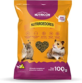 Nutriroedores 100gr Nutricon Para Hamster Adulto