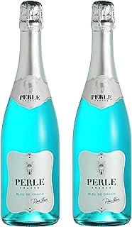 Pierre Chavin Perle Bleu Non-Alcoholic Sparkling Wine 750ml (2 Bottles)