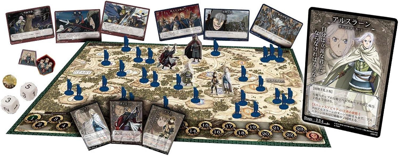 Arslan Senki board game on the panel board Kingdoms