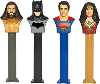 DC Comics PEZ Candy Dispensers: Pack of 12