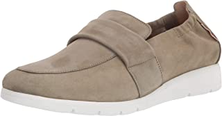 Mephisto Women's Loafer Flat, Light Taupe, 9.5 Wide