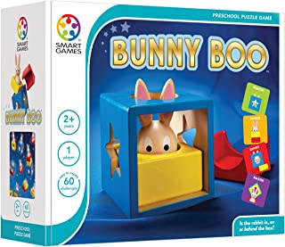 Bunny Boo Preschool Puzzle Game for Ages 2 and Up. Made by Smart Games