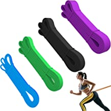 Bilinavy Resistance Band Set, Pull Up Assist Bands, Best Stretch Band for Pull Up Exercise, Powerlifting and Pole Fitness....