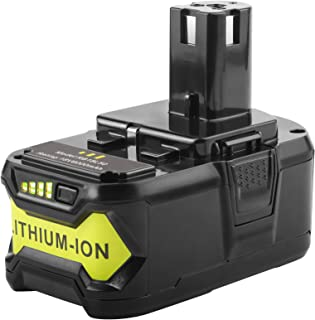 5000mAh 18V Lithium Battery Replacement for Ryobi 18-Volt 18L50 ONE+ P104 P105 P102 P103 P107 P108 P109 Tool