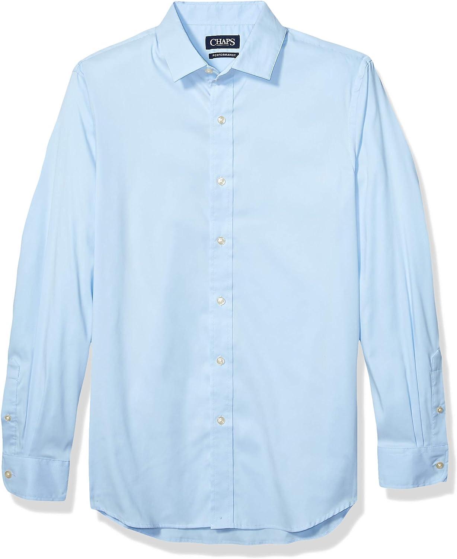 Chaps Men's Long Sleeve Performance Button Down Shirt