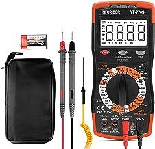 INFURIDER Digitale Multimeter TRMS 6000 telt YF-770S Avometer Voltmeter Volt Ohm Amp Meter, Handmatige en Auto Variërende ...