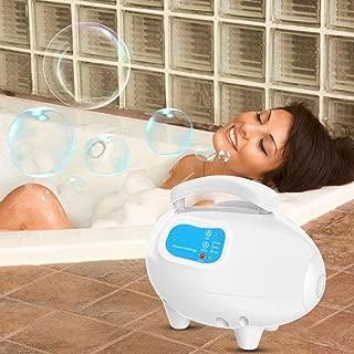 Bubble Bath Tub Massager, Waterproof Air Bubble Bath Tub Ozone Sterilization Body Spa Massage Mat with Air Hose(AU)